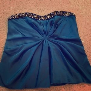 Moda International (V Secret) corset beaded